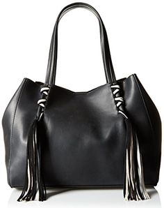 Steve Madden Bkyra Tote Bag, Black, One Size * Check this awesome product by going to the link at the image.