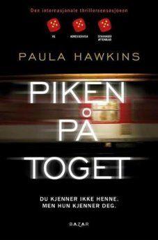 Piken på toget i pocket. Paula Hawkins, Ark, Pocket, Bag