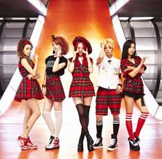 One of my favorite KPOP bands in history. 1.GG Thats all I'm going to tell you. :) This band would make my TOP 20 or 15. It is F(x)