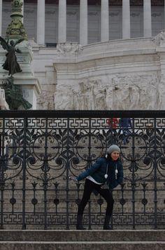 winter fun in Rome
