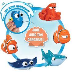 Le bain des petits devient une vraie partie de plaisir grâce à Dory et ses amis ! #LeMondeDeDory #Dory #Bandai #Jouet #Enfant