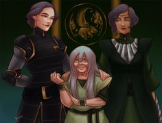 Beifong family portrait by CardAmazing