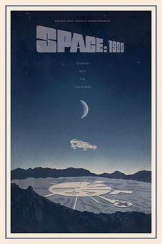 The Space:1999 Poster 70's and 80's Sci Fi Collection Print 16x24