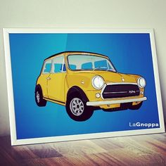 Stampe e quadri personalizzati! #grafreakdesign #grafreak_design #poster #illustration #miniclassic #graphicdesign #grafreak