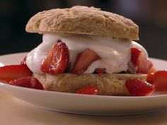 Strawberry Shortcake from FoodNetwork.com