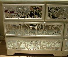 Ms Bingles Vintage Christmas: *Broken Mirror Dresser*