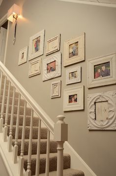 Family Photo Wall...my favorite!