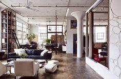 Gravity Home: Industrial Warehouse Loft In Brooklyn