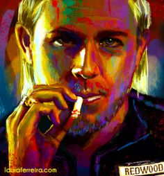 Jax Teller from Sons of Anarchy  just a little fan-girl piece from this major fan-girl