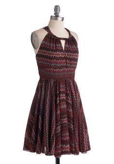 Ultraviolet Waves Dress   Mod Retro Vintage Dresses   ModCloth.com