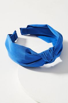 Slide View: 1: Knotted Chiffon Headband
