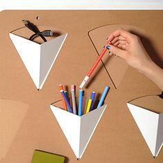 #Pigreco #Wall #organizer - #cardboard #design for #home and #office - Choose your favorite #colour - http://eco-and-you.com/shop/pigreco/
