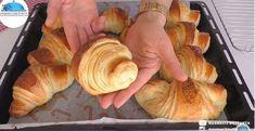 Katmer kifli recept ezzel a hajtogatási technikával Szín Hobbi Bread, Chicken, Food, Eten, Bakeries, Meals, Breads, Cubs, Kai