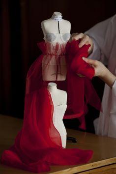Les créations haute couture miniatures présentées