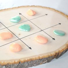 Tic Tac Toe Board Game MichaelsMakers by @karaspartyideas