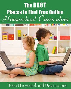 A list of Free Complete Online Homeschool Curriculum to use entirely for your homeschool year.