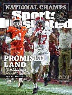 Sports Illustrated January 11, 2016 Alabama Crimson Tide National Champions