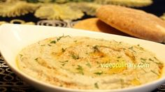 Baba Ganoush is a delicious Middle Eastern eggplant dip. Enjoy it as an appetizer, side dish or as a delicious spread.