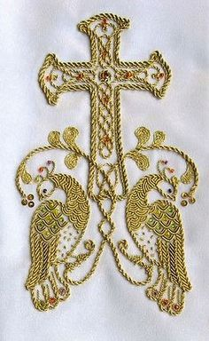 Jute Crafts, Goldwork, Genealogy, Bookmarks, Catholic, Embroidery Designs, Cross Stitch, Couture, Ornaments