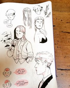 hi tumblr, long time no see!! here are some bits and pieces from my sketchbook