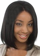 Naturally Silky Straight 12Inch 100% Indian Remy Human Hair Full Lace Wig