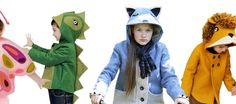 Little Goodall's charming animal-inspired coats make a great, warm Halloween costume, as well as inspire imaginative play any day of the year. Sewing Projects For Kids, Sewing For Kids, Sewing Crafts, Sustainable Style, Sustainable Fashion, Warm Halloween Costumes, Beautiful Costumes, Your Back, Big Challenge