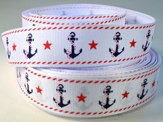 1 Anchor and Rope   Anchor with Stars Nautical