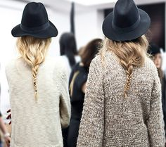 braids and hats