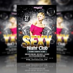 Sexy Night Club Party Flyer