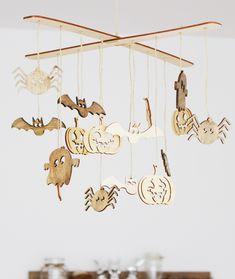 Helloweenská závesná dekorácia. Dekorácie do bytu Halloween, Spooky Halloween