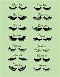 Resultado de imagem para eyelash extension guide