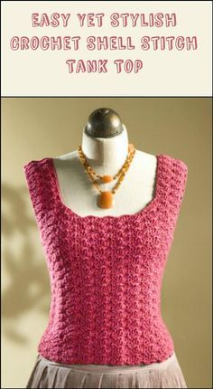 50+ Quick & Easy Crochet Summer Tops - Free Patterns - Page 4 of 9 - DIY & Crafts