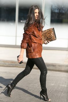 Further proof that brown and black only look better together. Source: Melodie Jeng/The NYC Streets