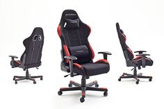 ✓ Gaming Stuhl Test DXRacer 1, ✓ In der Höhe verstellbare Armlehnen ✓ Vom TÜV geprüfte Qualität ✓ Garantie des Herstellers von 24 Monaten