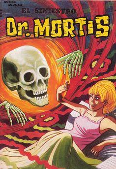 Dr. Mortis Kitsch, Magazines, Horror, Comic Books, Retro, Comics, Entertainment, Parks, Journals