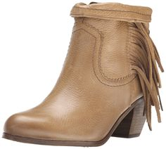 Sam Edelman Women's Louie Fringe-Trimmed Ankle Boot * You can get more details here : Ankle Boots