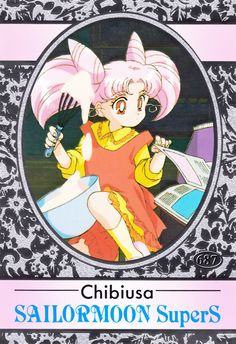 Sailor Moon Super S, Sailor Chibi Moon, American Card, Sailor Moom, Moon Drawing, Sailor Moon Aesthetic, Back In The 90s, Famous Artwork, Pink Moon