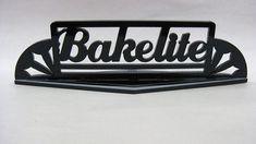 Vintage Bakelite Sign...
