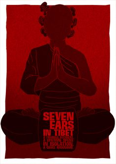 One letter removed movie posters: Seven Ears in Tibet