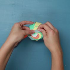 Smart & simple 8 pieces swirl paper box