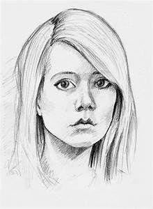 Easy Pencil Portrait Drawing