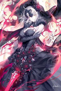 "Tagged with fate grand order; ""I want to see Mo-san wearing a dress! Anime Girls, Kawaii Anime Girl, Manga Girl, Anime Art Girl, Manga Japan, Anime Krieger, Fate Stay Night Anime, Fate Servants, Anime Warrior"