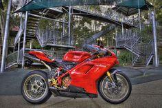 Ducati 1098R HDR