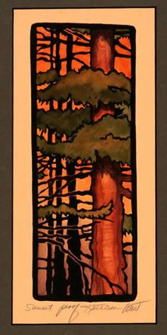 """Sunset"" by Kathleen West 