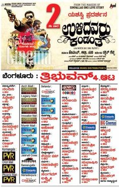 Ulidavaru Kandante #kannada movie poster #namcinema @rakshitshetty @SimpleSuni #UlidavaruKandante @UKthefilm