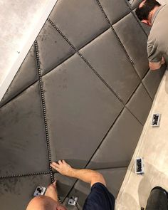 "Hope End Design Limited on Instagram: ""A bit of hand finishing on one of the bespoke headboards today @hillhouseinteriors #bespoke #upholstery #headboards"""