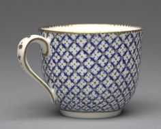 Cup  France, Chantilly, 18th century    Date: c. 1760-1770    Medium: porcelain