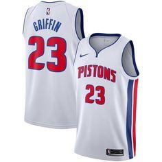 7e7771486 Blake Griffin Detroit Pistons Nike Replica Swingman Jersey - Association  Edition – White