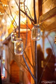 Eco Garden Rustic Shabby Chic Spring Summer Vintage Brown Silver Centerpieces Indoor Reception Wedding Reception Photos & Pictures - WeddingWire.com