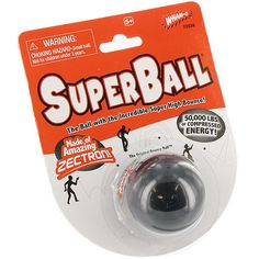 Wham-O Superball.  We bounced it up and down the street (away from house windows!)  Went SO high!